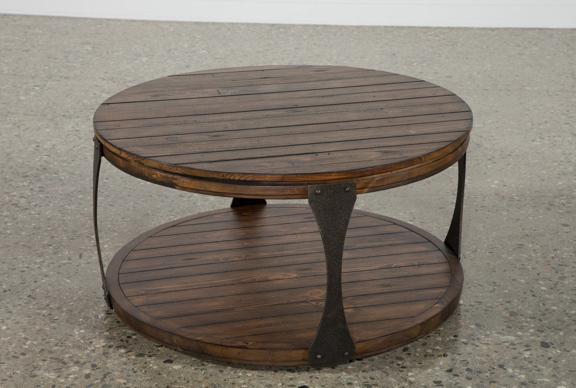 Blanton Round Cocktail Table (Gallery 1 of 20)