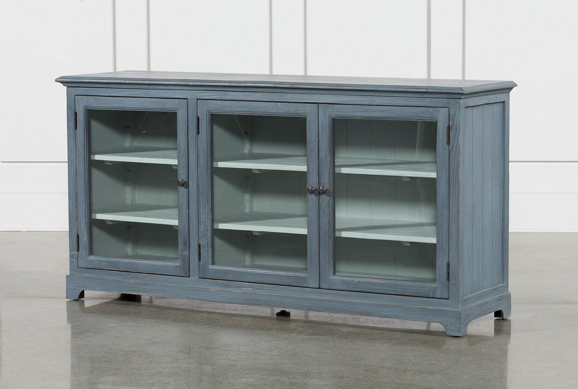 Featured Photo of Blue Stone Light Rustic Black Sideboards