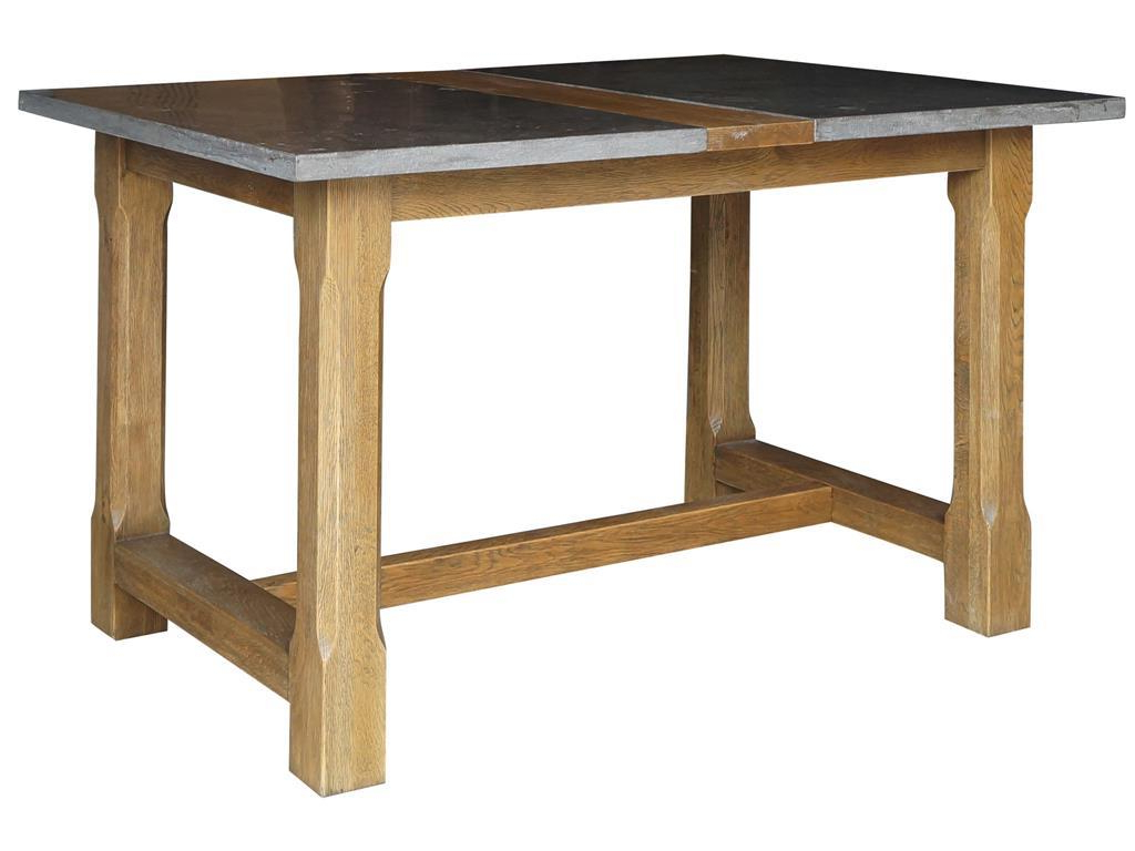 Bluestone Rustic Black Coffee Tables With Regard To Most Popular Farmhouse Pub Table With Bluestone Topfour Hands (View 6 of 20)