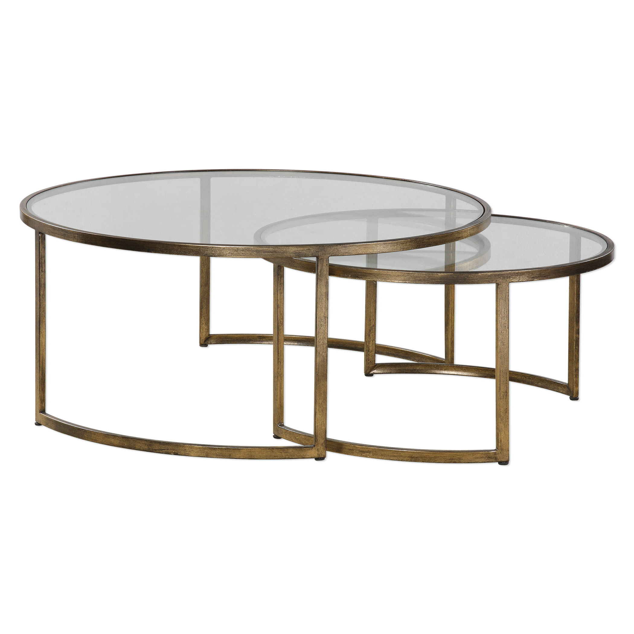 Brayden Studio Nicklas 2 Piece Coffee Table Set & Reviews (View 7 of 20)