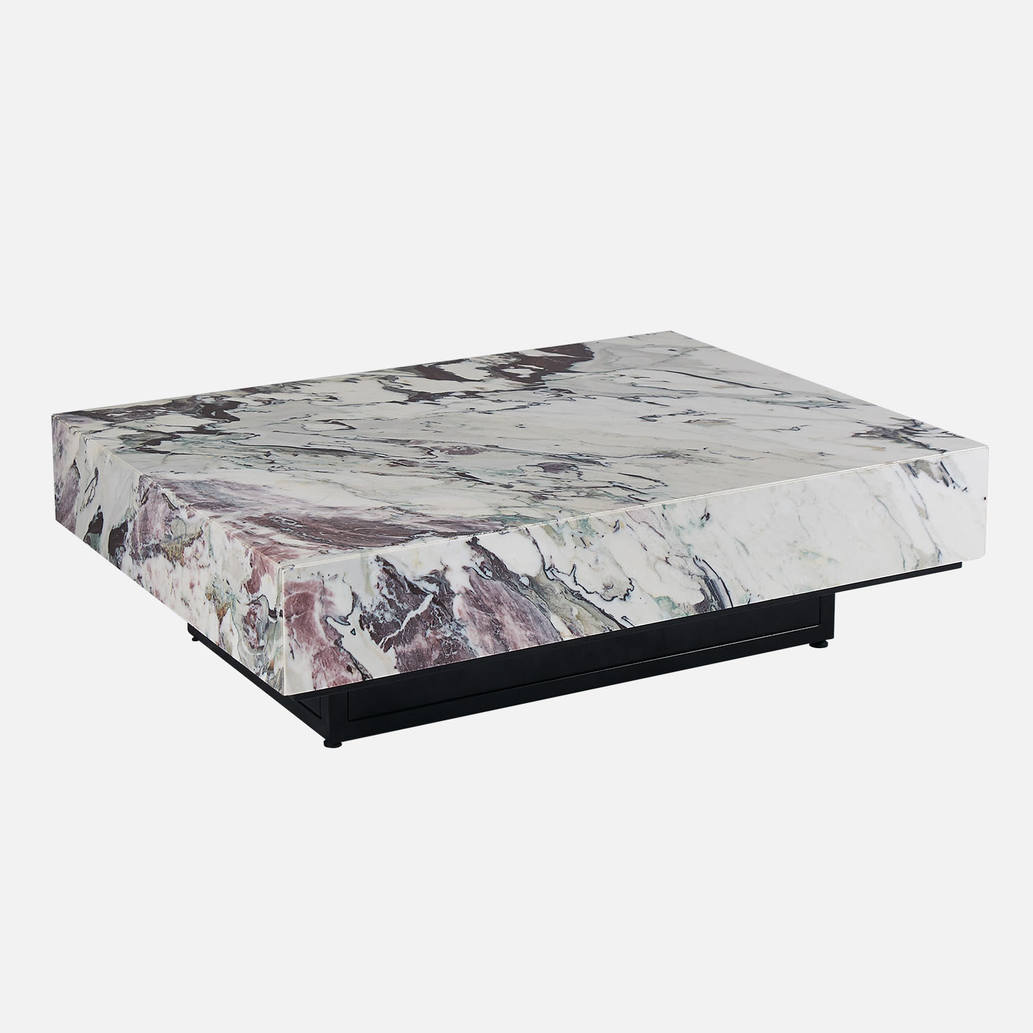 Breccia C Marble Coffee Table Pertaining To Popular Marble Coffee Tables (View 3 of 20)