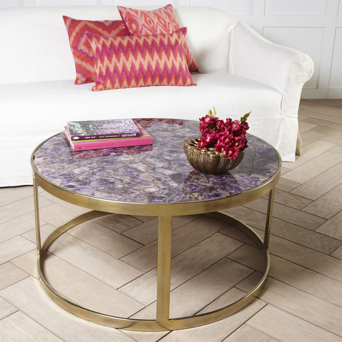 Broll Coffee Tables For Best And Newest Stone Top Coffee Table (View 3 of 20)