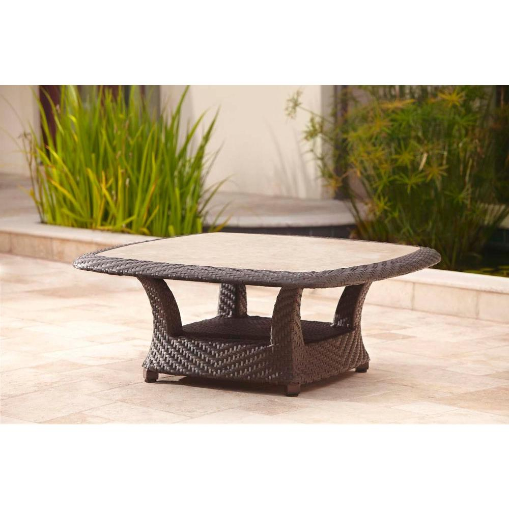 Brown Jordan – Outdoor Coffee Tables – Patio Tables – The Home Depot In Trendy Jordan Cocktail Tables (View 1 of 20)