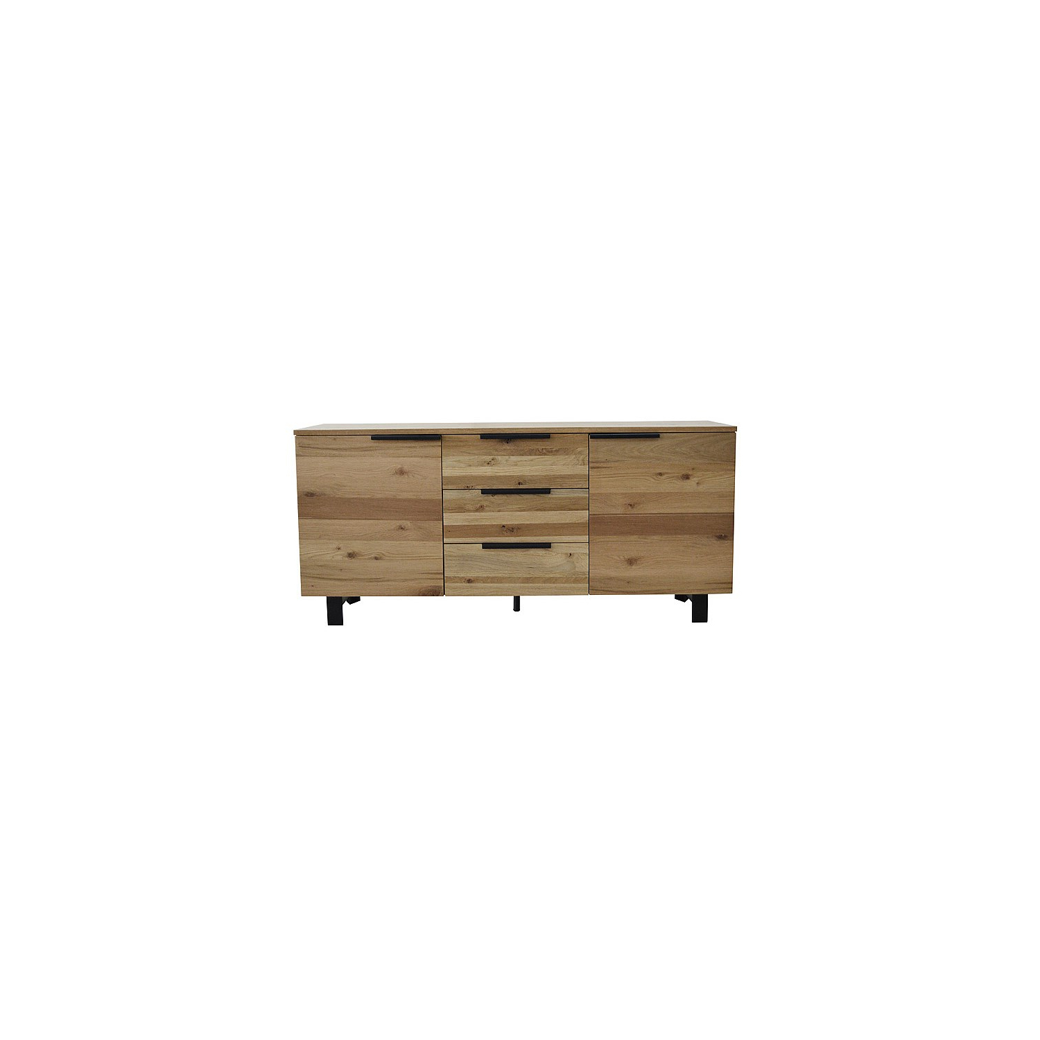 Buffets With Regard To Fashionable Walnut Finish 2 Door/3 Drawer Sideboards (View 20 of 20)