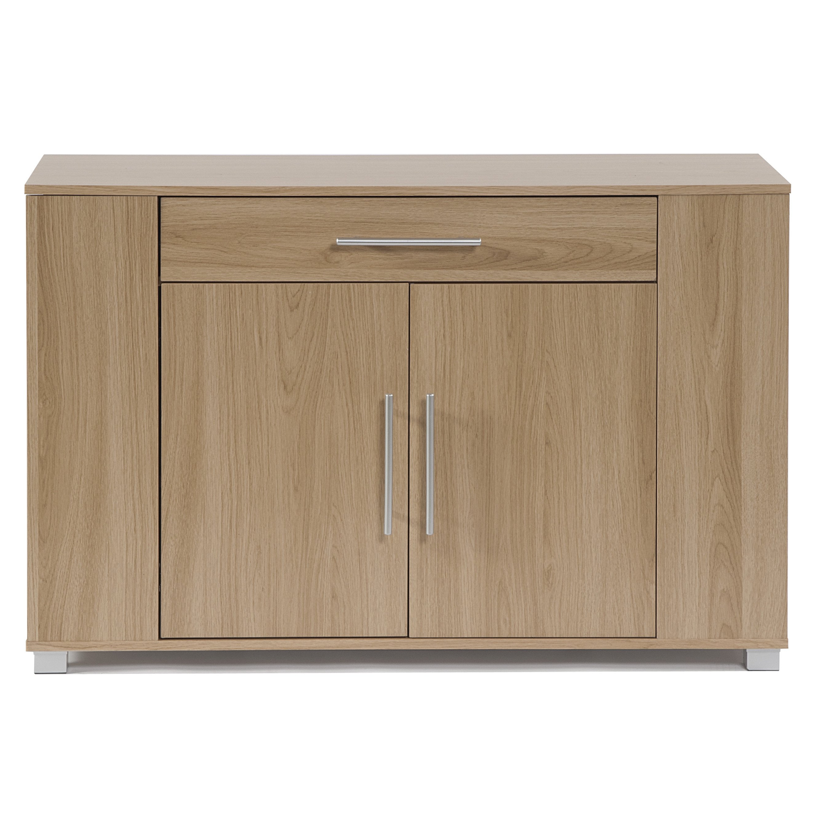 Burn Tan Finish 2 Door Sideboards With Fashionable Shop Clay Alder Home Otowi 2 Door Sideboard With Drawer And End (View 4 of 20)
