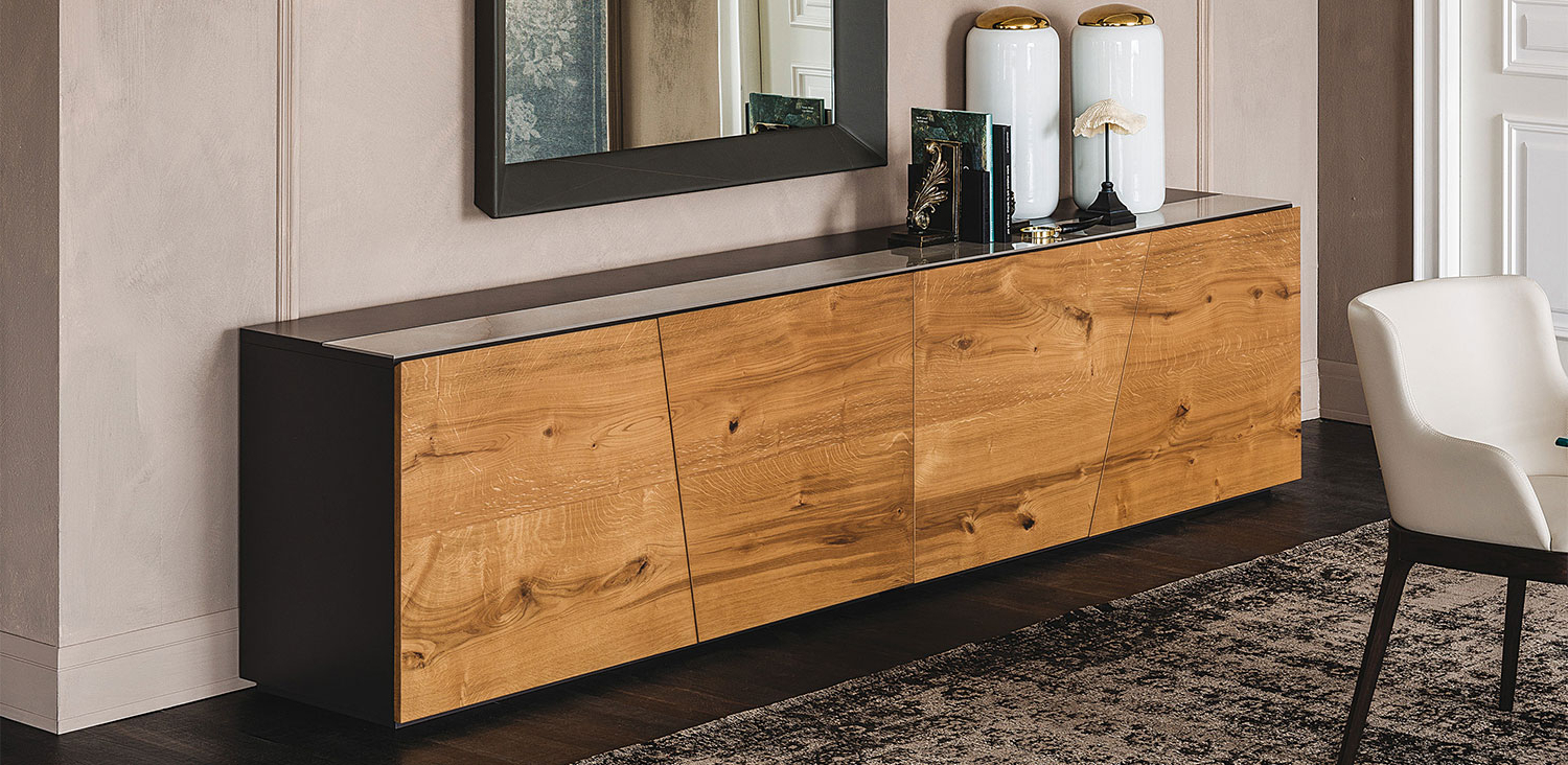 Burn Tan Finish 2 Door Sideboards With Regard To Widely Used Dining Room Sideboards – Floridian Furniture (View 20 of 20)