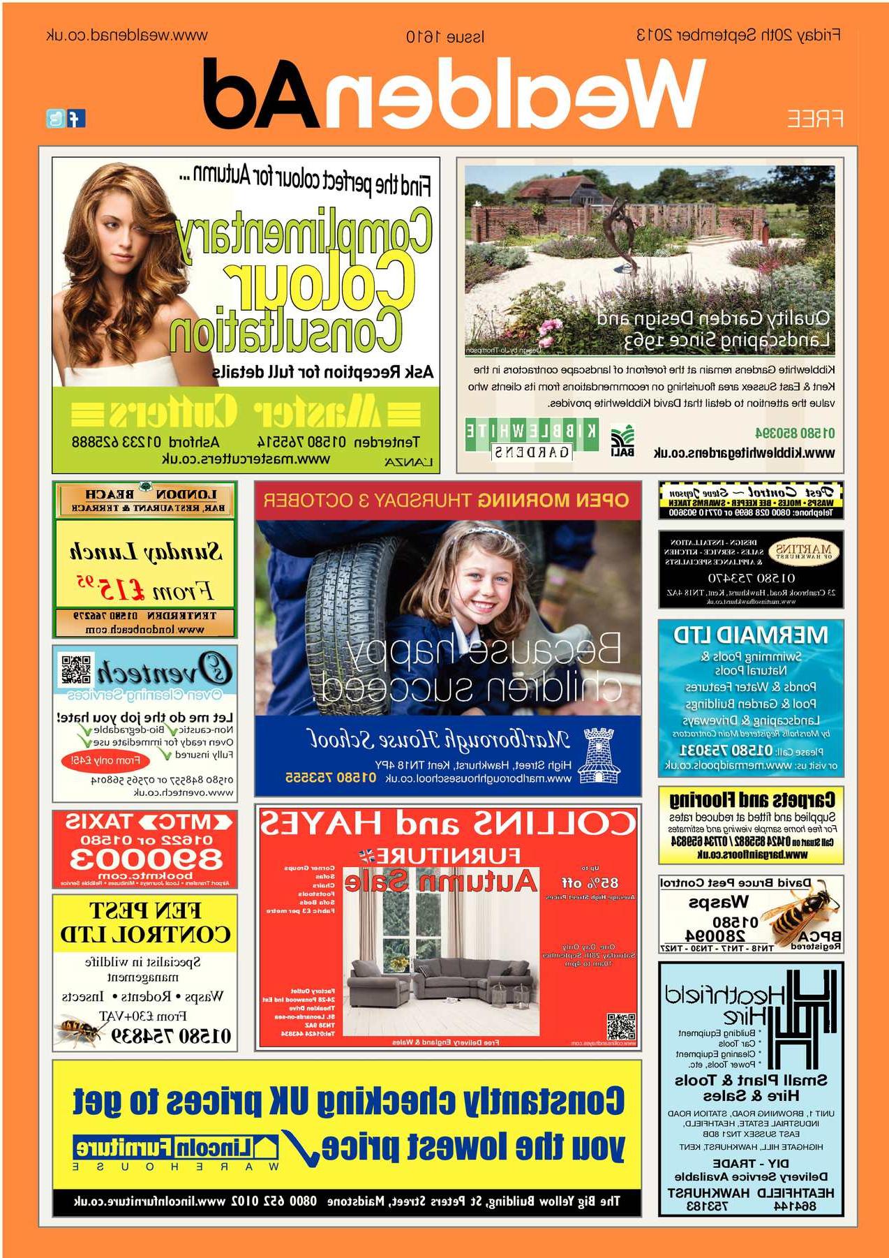 Burnt Tannin 4 Door Sideboards With Regard To 2019 Calaméo – Wealden Advertiser 20/09/ (View 18 of 20)