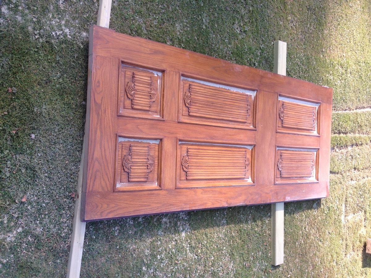 Burnt Tannin 4 Door Sideboards With Regard To Recent Dp Shot Blasting (Gallery 7 of 20)