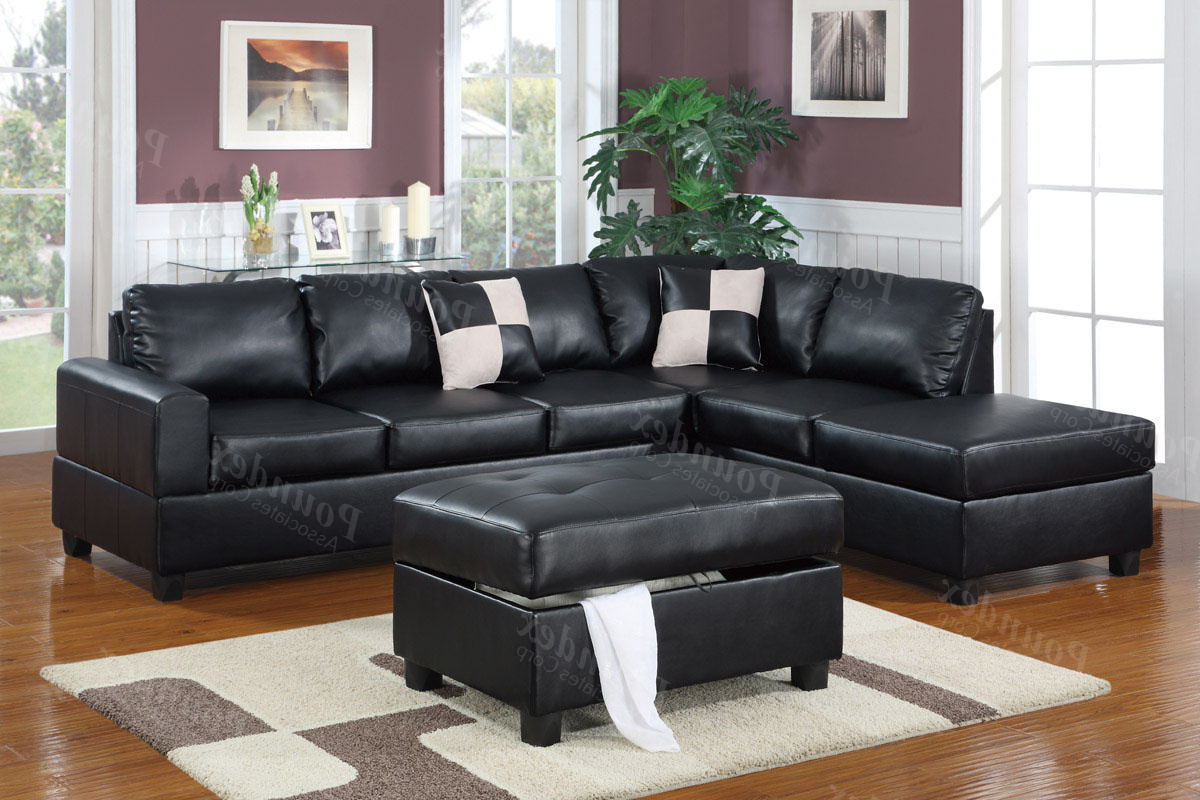 Burton Leather 3 Piece Sectionals For Most Popular 3 Piece Sectional Leather Sofa – Leather Sofa Ideas (View 2 of 20)