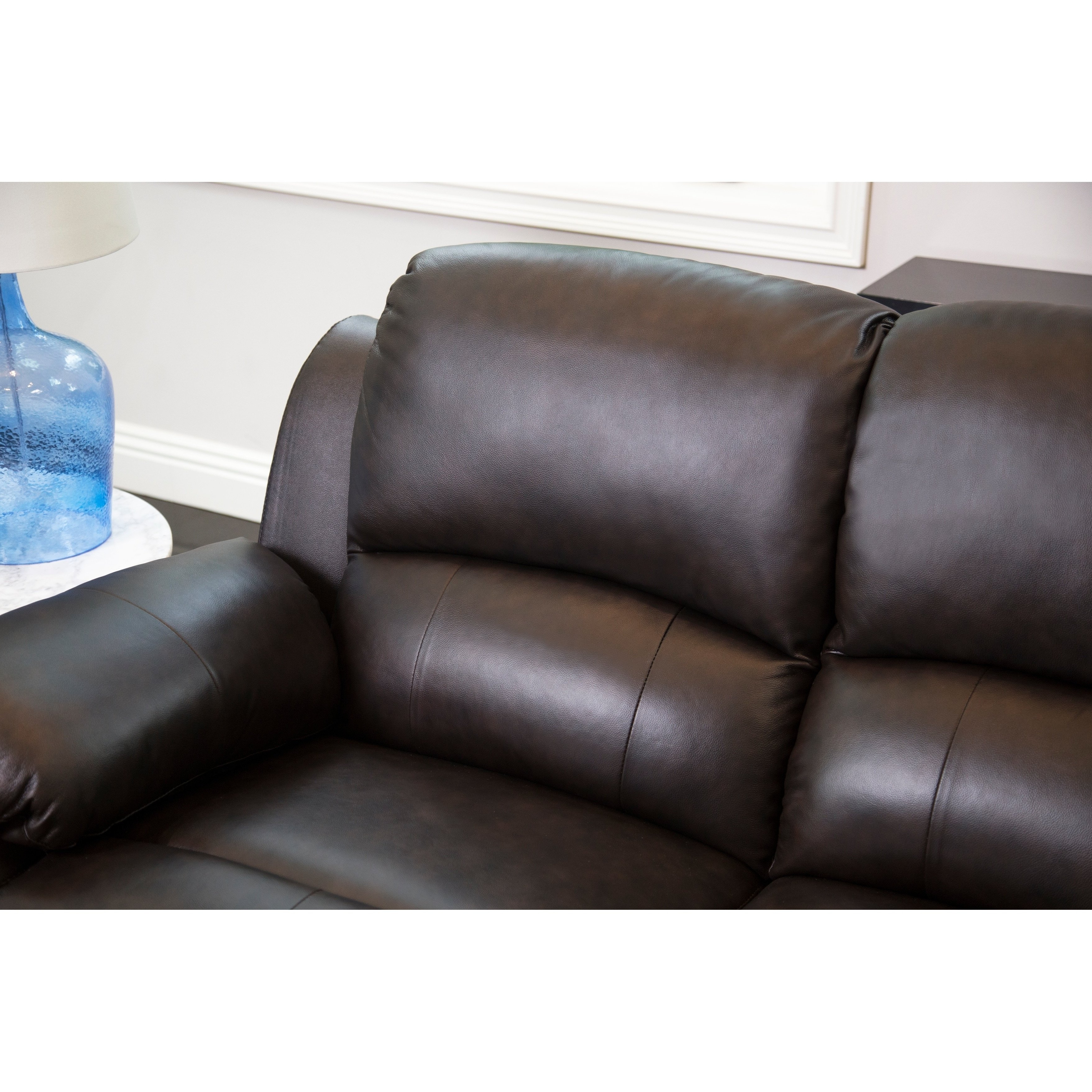 Burton Leather 3 Piece Sectionals With Recent Vast 25 Genuine Leather Reclining Sectional Ideal (View 9 of 20)