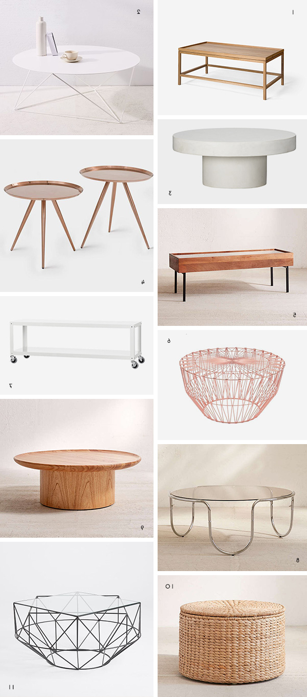But First Coffee (Tables): The Coolest Coffee Tables Under $500 In Widely Used Shroom Coffee Tables (View 2 of 20)