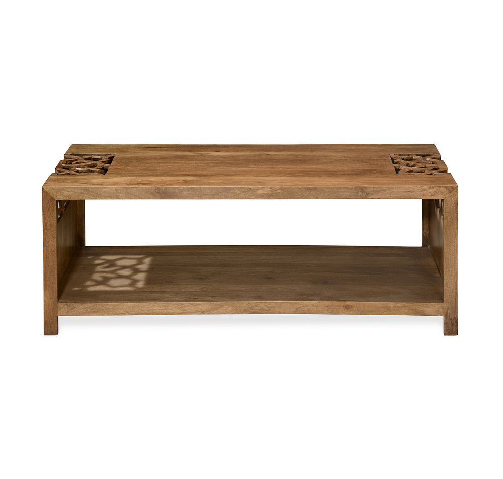 Buy Batik Center Table – @homenilkamal, Cherry Online – At Home With Regard To Well Known Batik Coffee Tables (View 13 of 20)