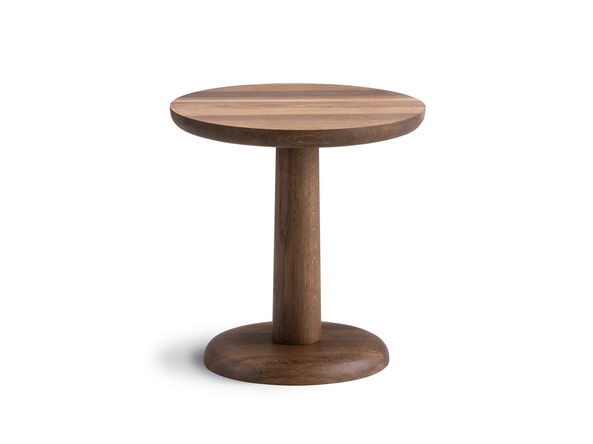 Buy The Fredericia Pon Side Table Smoked Oak At Nest.co (View 4 of 20)