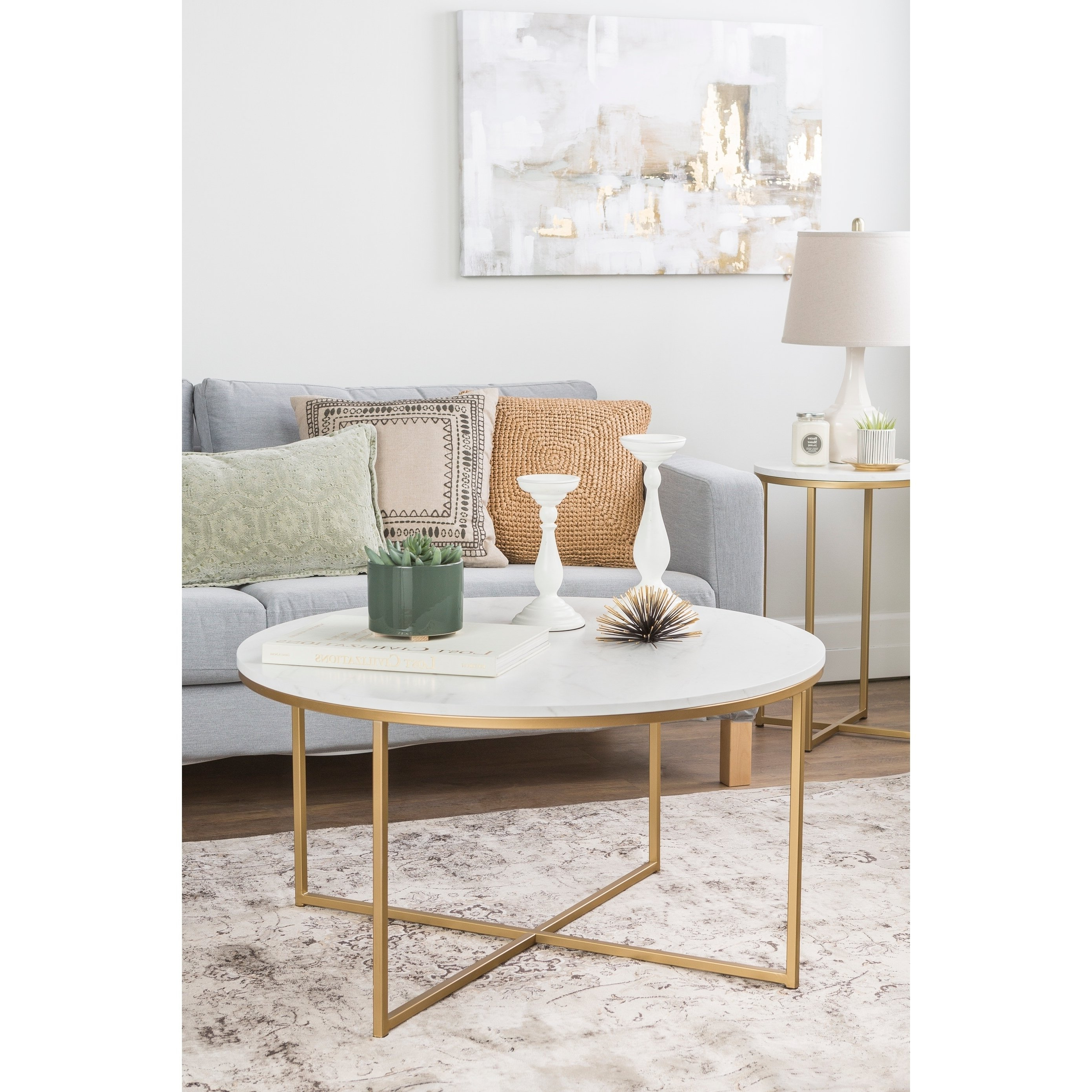 Buy White, Coffee Tables Online At Overstock (Gallery 8 of 20)