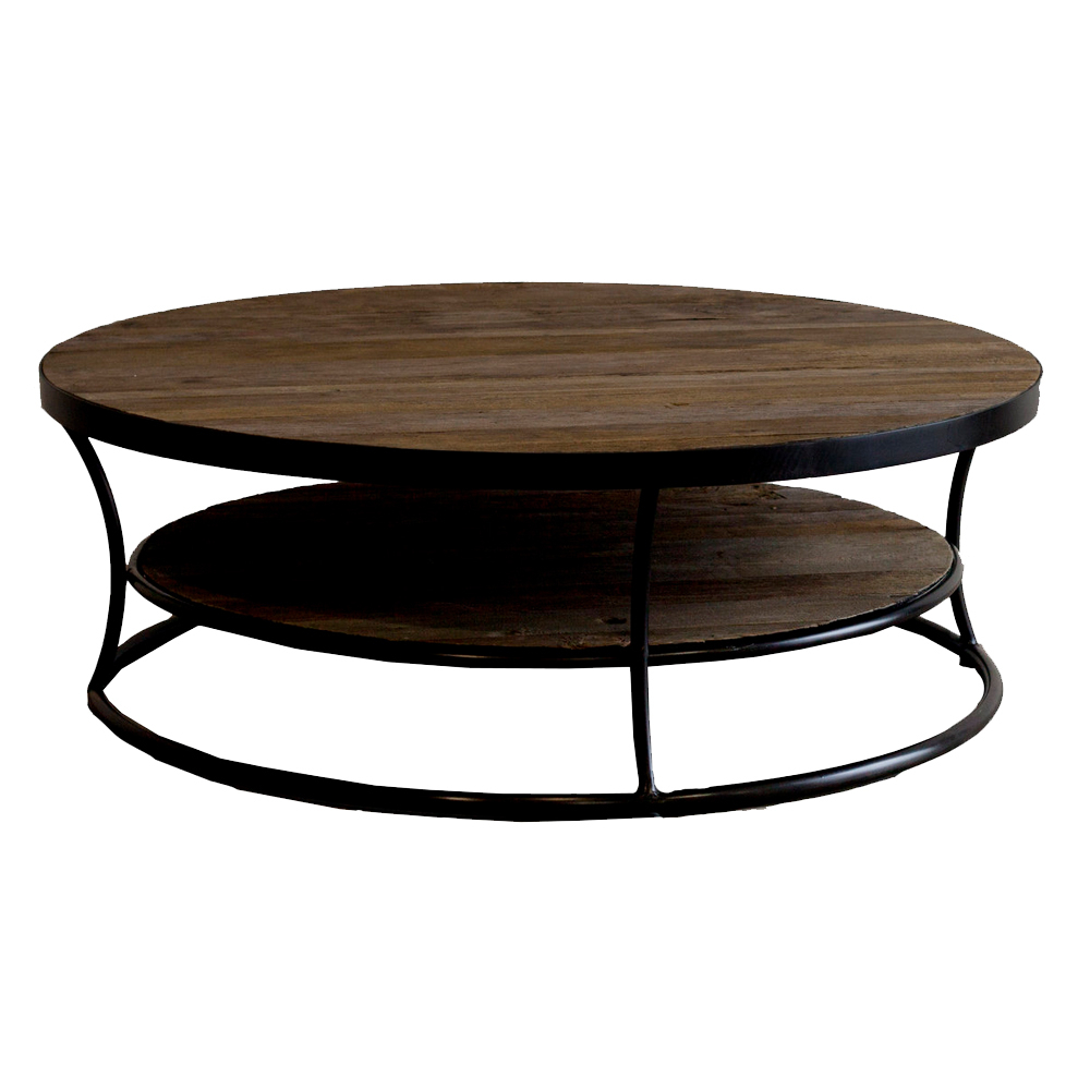 Buy Wooden Coffee Tables Intended For Well Known Reclaimed Elm Iron Coffee Tables (Gallery 17 of 20)