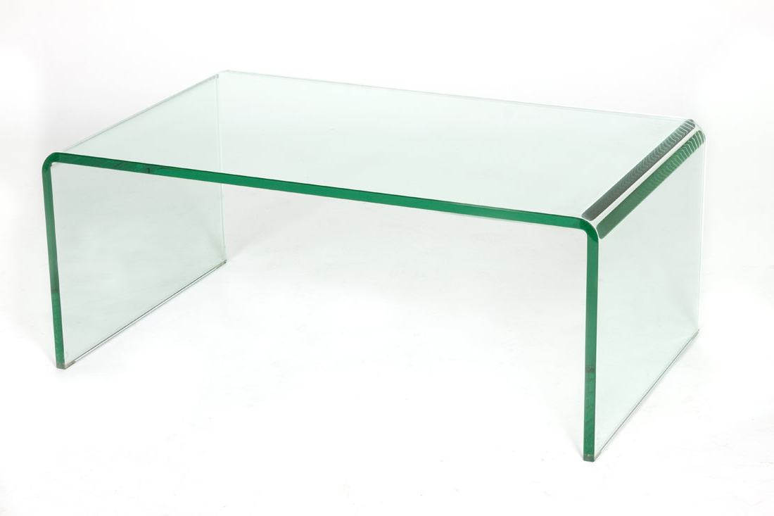 C2A Designs Waterfall Glass Coffee Table (Gallery 4 of 20)