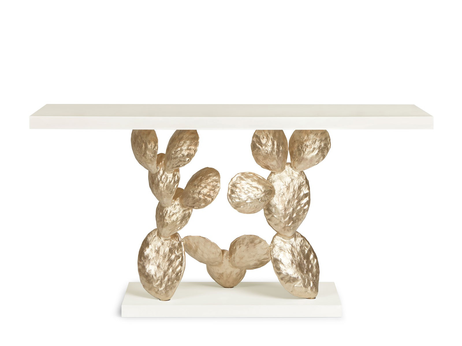 Cacti Brass Coffee Tables In Trendy Cactus – Console – Ginger & Jagger (Gallery 3 of 20)
