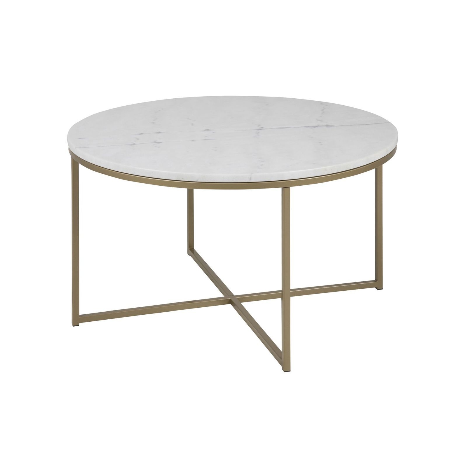 Cade Coffee Table Round (Brass) – Tables – Furniture – Furniture With Fashionable Smart Round Marble Brass Coffee Tables (View 2 of 20)