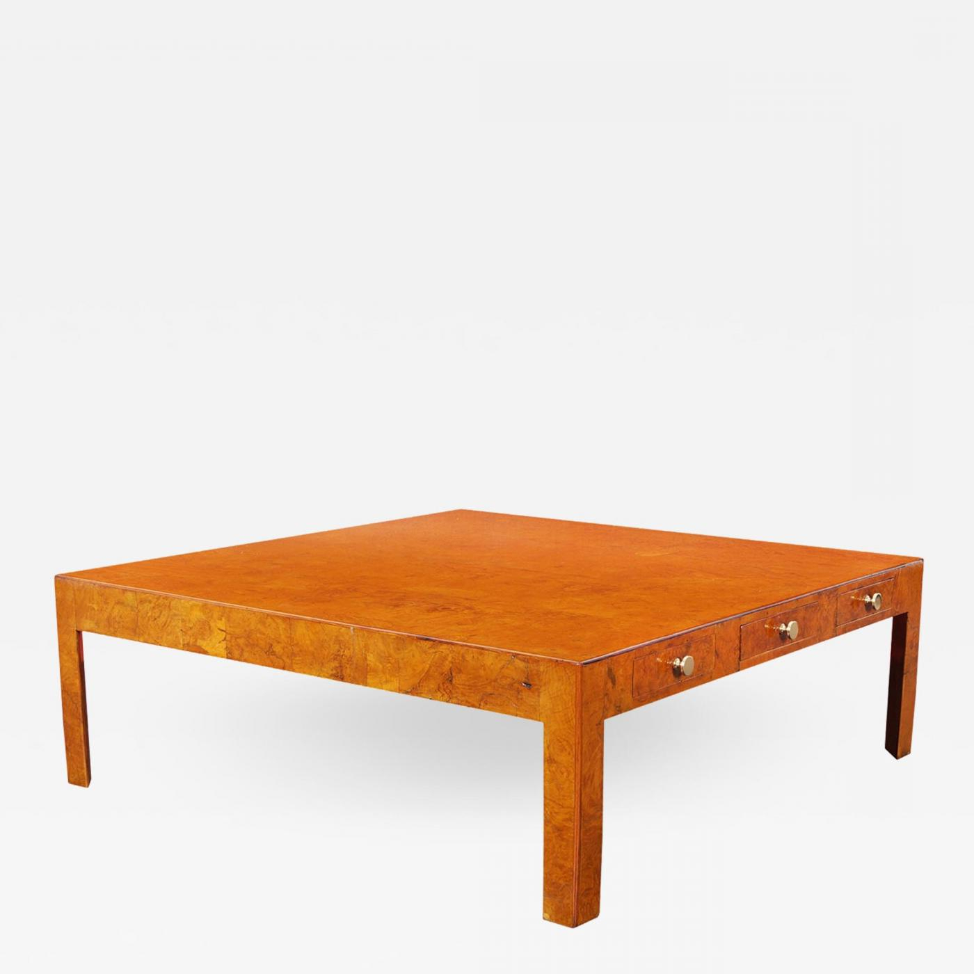 Cannell & Chaffin – Vintage Italian Burl Wood Coffee Table Pertaining To 2019 Vintage Wood Coffee Tables (View 3 of 20)