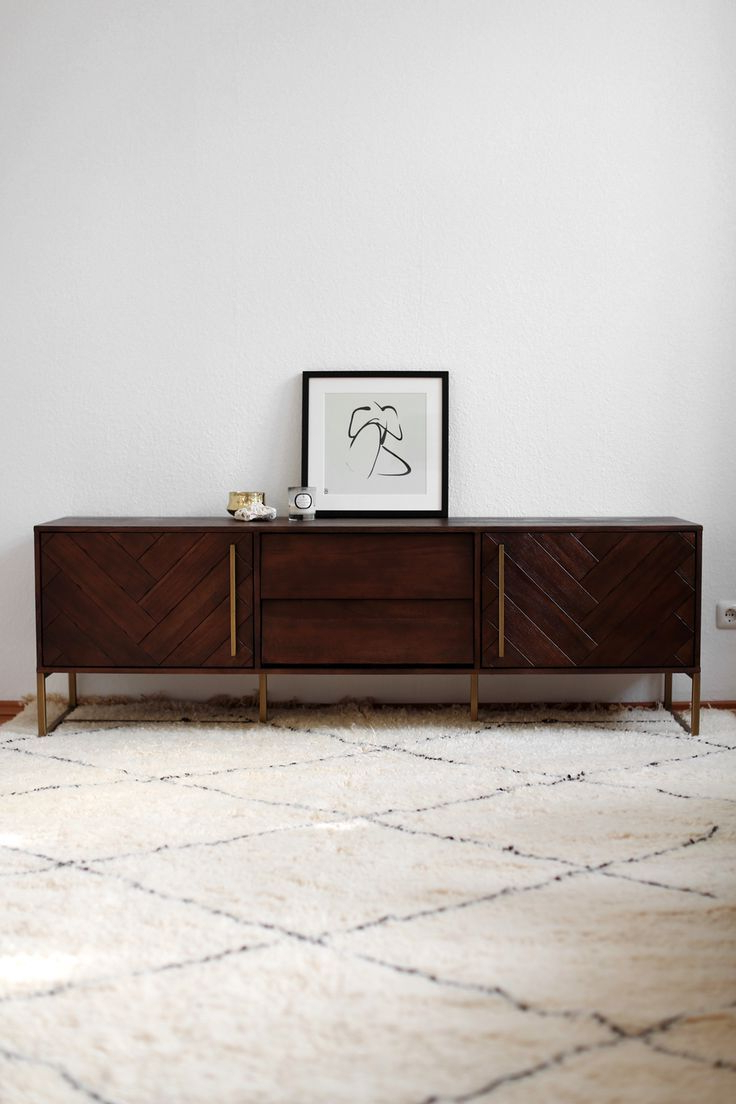 Capiz Refinement Sideboards Regarding Preferred Mid Century Vintage Sideboard With Mid Century Sideboard With (View 5 of 20)
