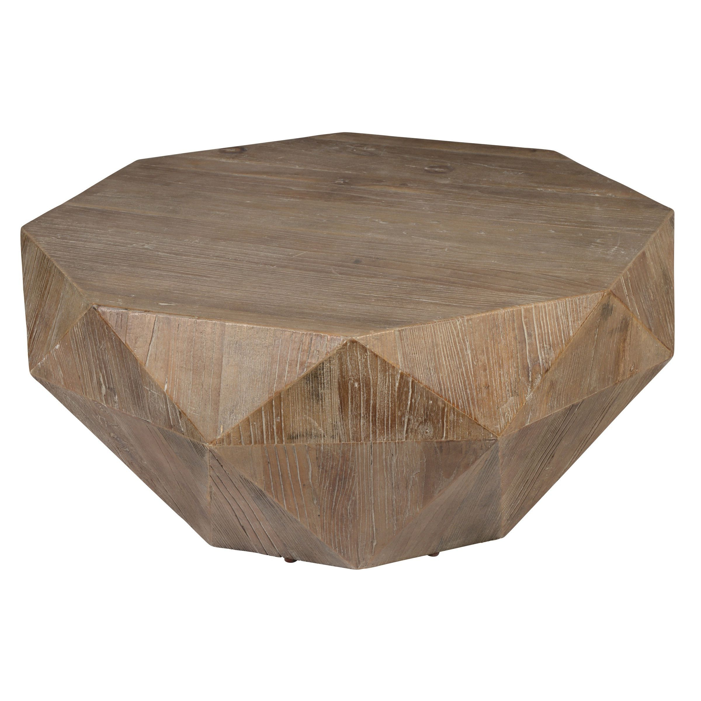 Casablanca Coffee Tables Pertaining To Well Known Kosas Home Transitional Casablanca Coffee Table (Natural Geometric (View 6 of 20)