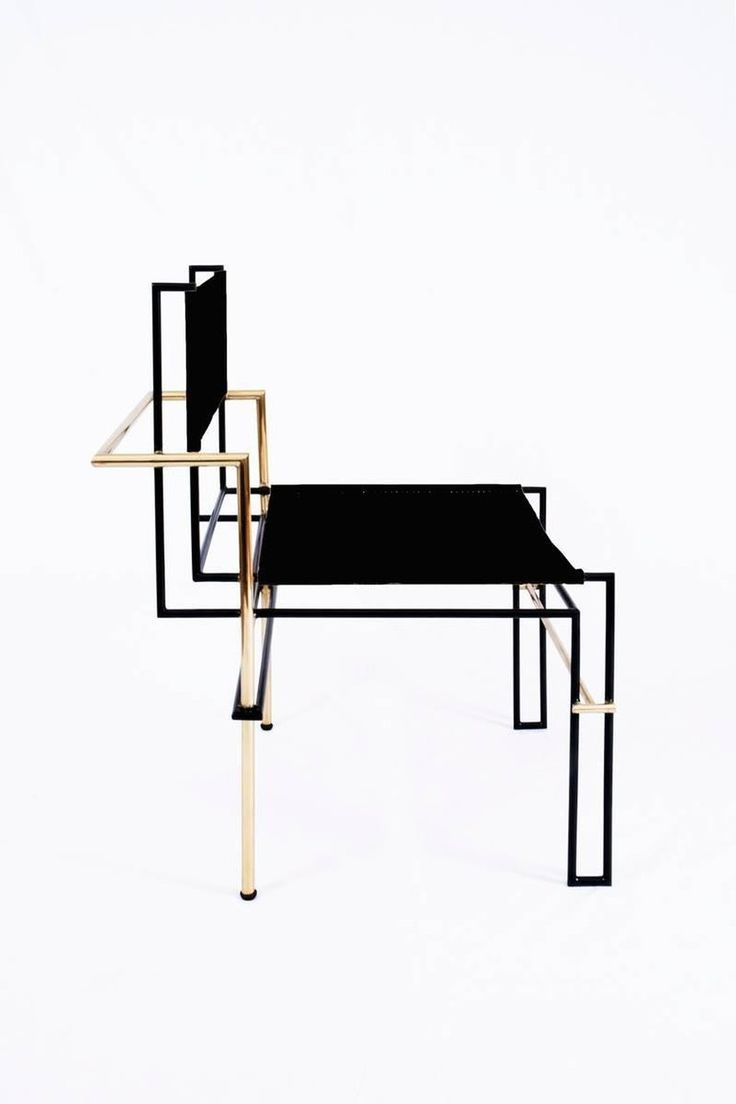 Casbah, Functionalist Inspired Brass / Vachetta Tubular Chair Regarding Most Popular Casbah Coffee Side Tables (View 4 of 20)