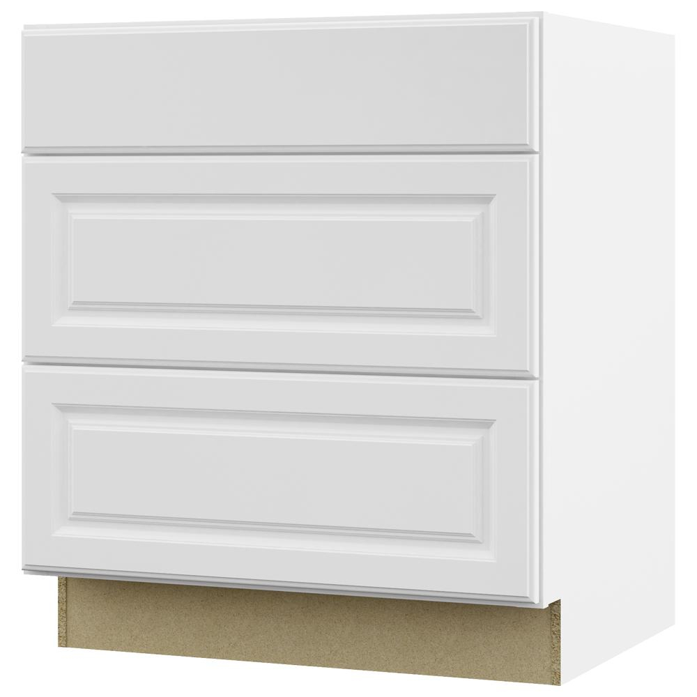 Cass 2 Door Sideboards Pertaining To 2019 White – Kitchen Cabinets – Kitchen – The Home Depot (View 4 of 20)