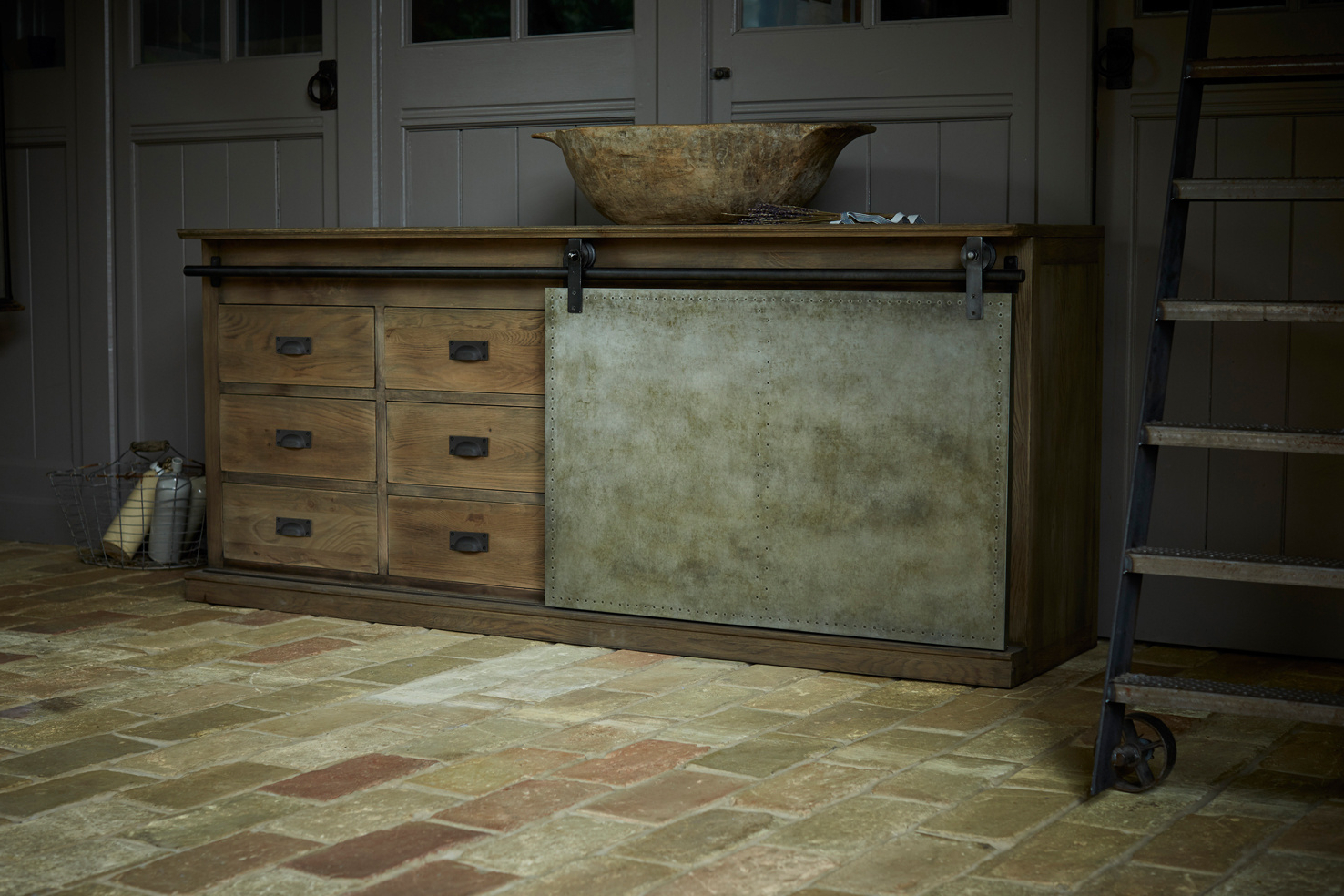 Castle And Gregory Within Vintage 8 Glass Sideboards (View 8 of 20)