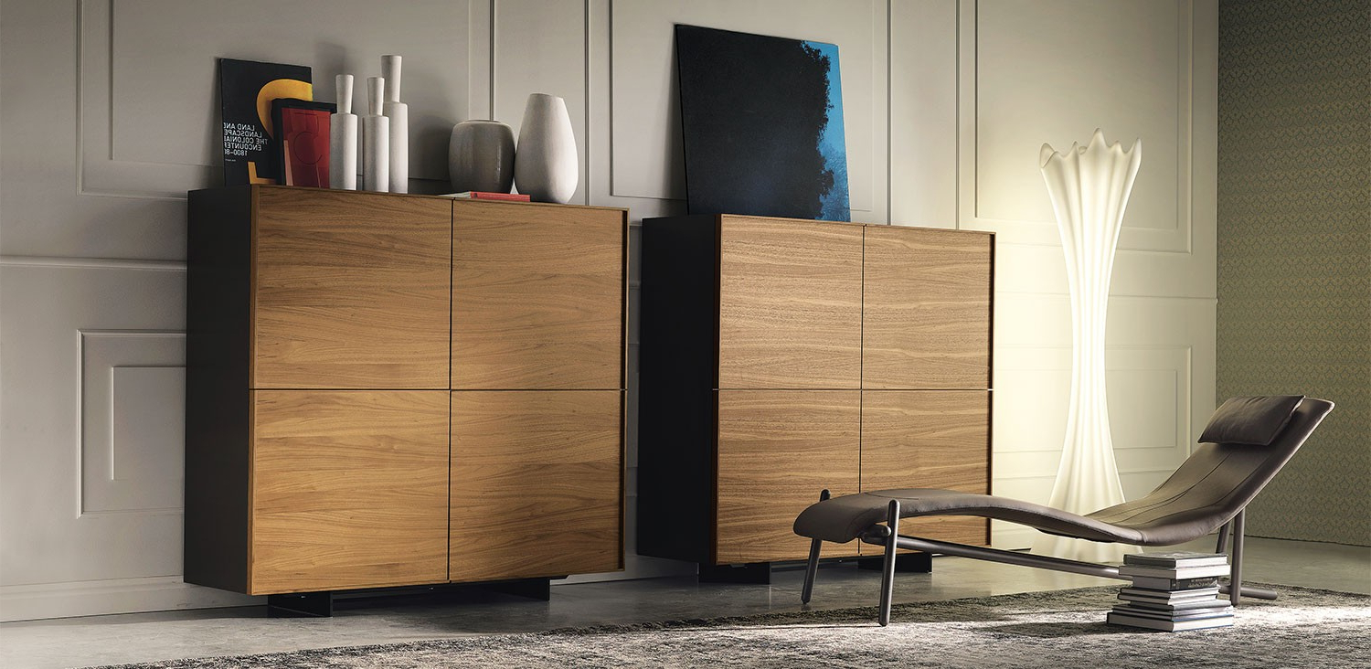 Cattelan Italia Oxford Sideboard Storage Unit – Gr Shop Canada Within Most Current Black Burnt Oak Sideboards (View 8 of 20)