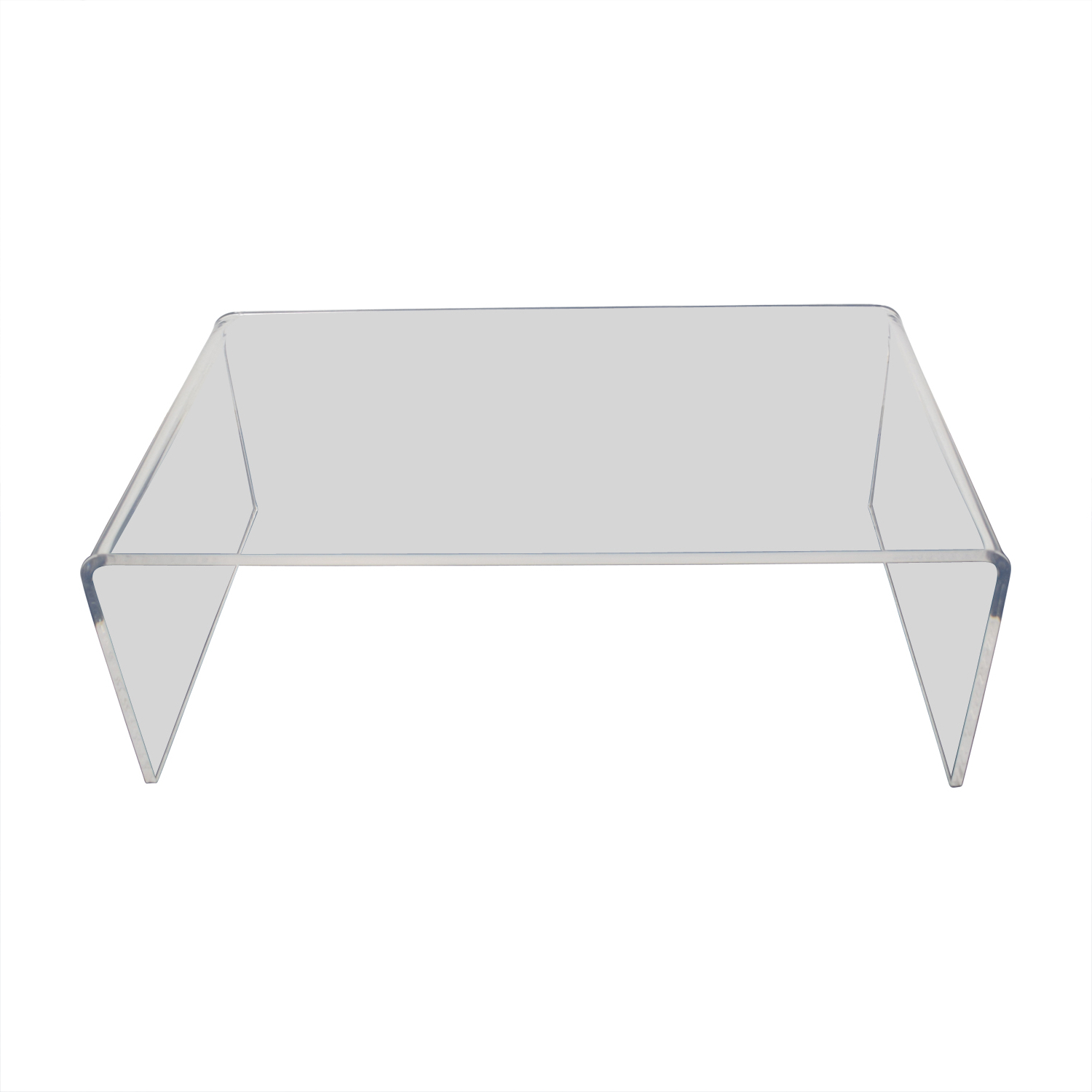 Cb2 Peekaboo Acrylic Coffee Table With Popular Peekaboo Acrylic Coffee Tables (Gallery 1 of 20)