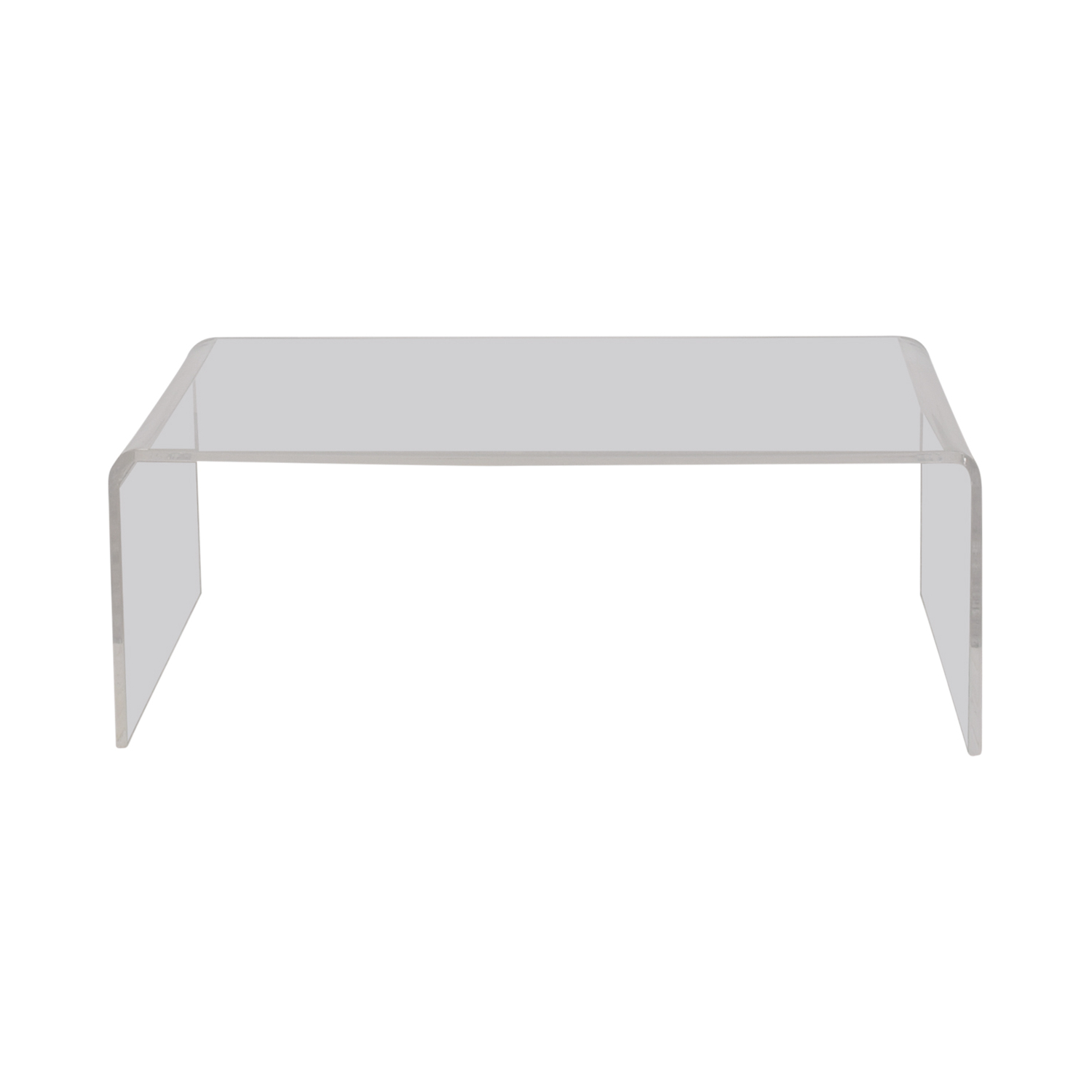 Cb2 Peekaboo Acrylic Coffee Table With Regard To Widely Used Peekaboo Acrylic Coffee Tables (Gallery 2 of 20)