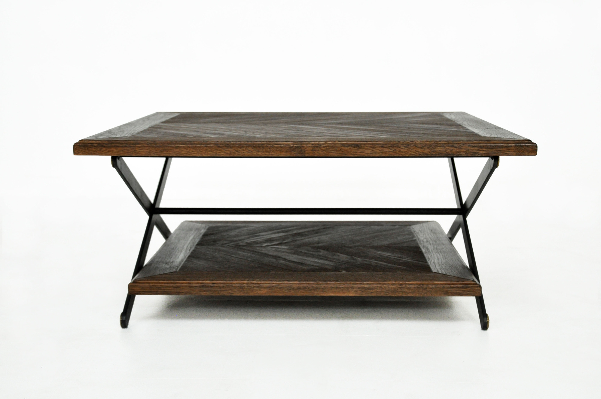 """Chevron 48"""" Coffee Tables For Latest Patterned Inlay – Paul Lewin (View 6 of 19)"""