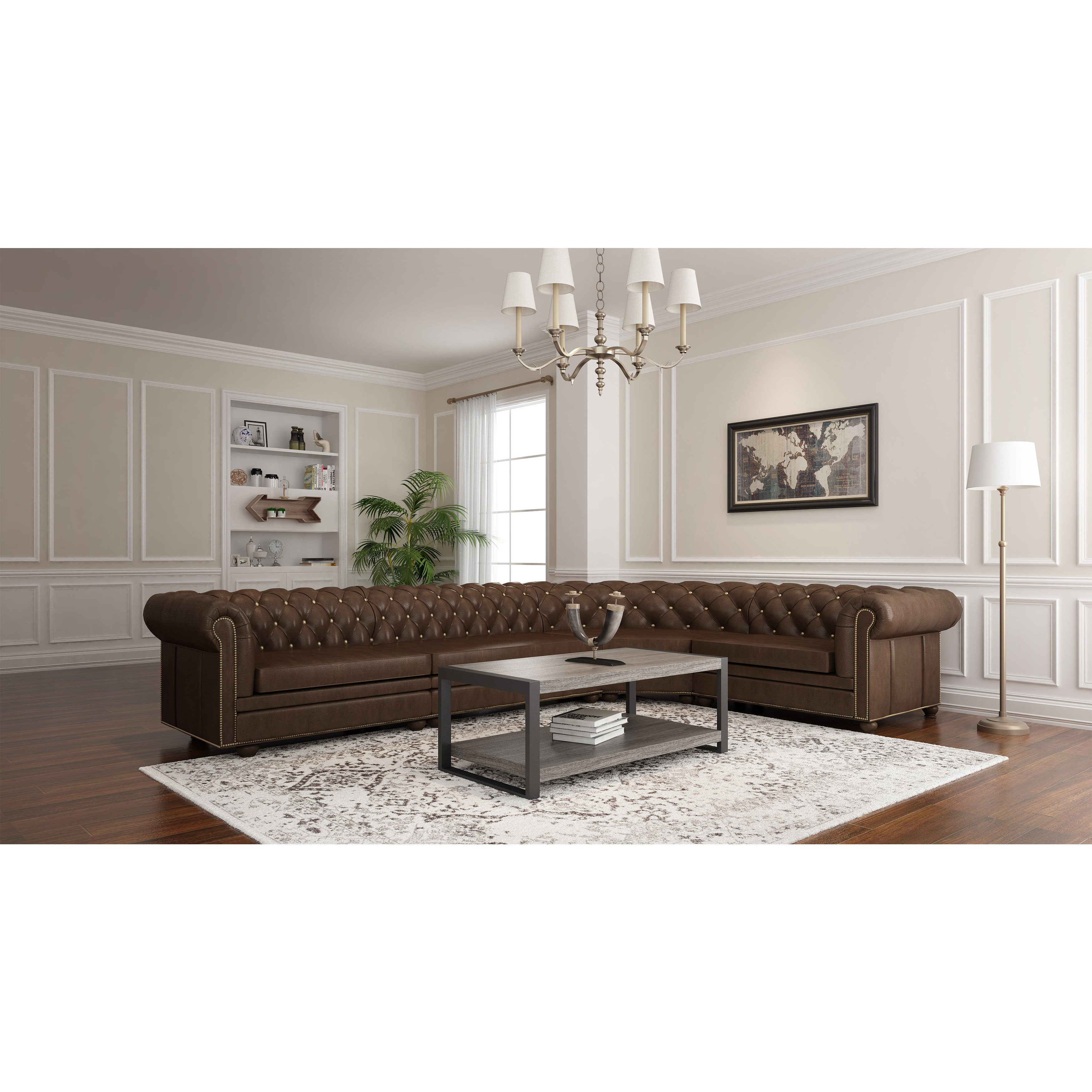 """Chevron 48"""" Coffee Tables With Regard To Well Known Shop Angelo:home 48"""" Coffee Table – 48 X 24 X 18h – On Sale – Free (View 10 of 19)"""