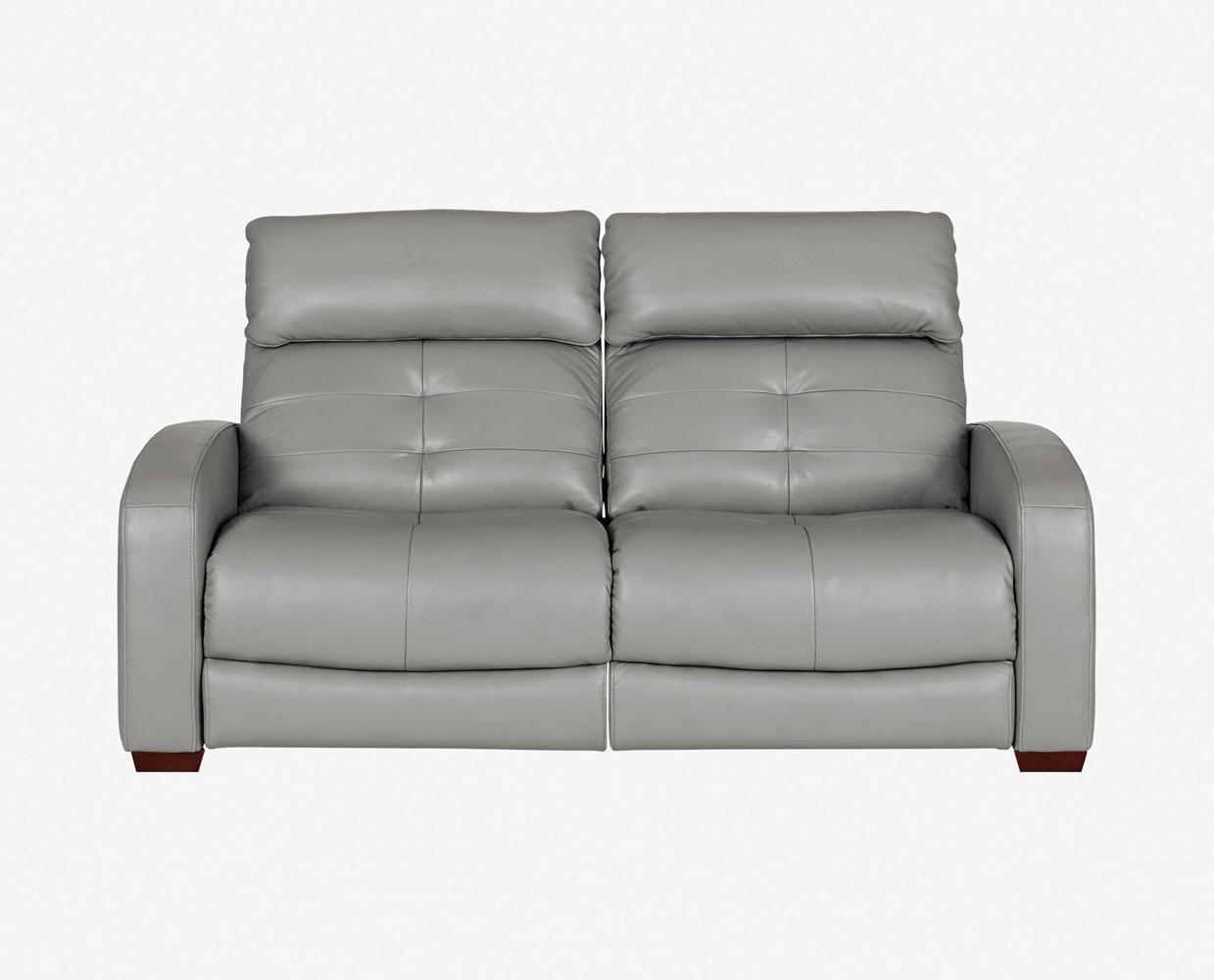 Clyde Grey Leather 3 Piece Power Reclining Sectionals With Pwr Hdrst & Usb Intended For Fashionable Diverting Luxury Lear Recliner Loveseat Larus Power Motion Sofa (View 6 of 20)