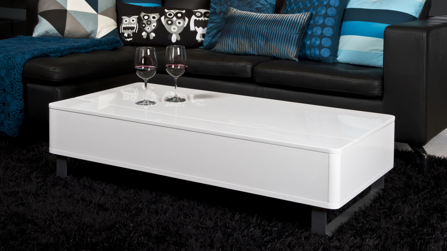 Coffee Table. Amazing White Coffee Table For Inspiring Your Own Idea With Most Current Shroom Large Coffee Tables (Gallery 18 of 20)