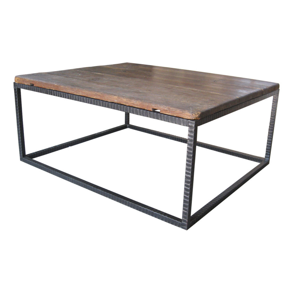 Coffee Tables Ideas Awesome Iron And Wood Coffee Table Wood Coffee Pertaining To Most Recent Reclaimed Elm Cast Iron Coffee Tables (View 2 of 20)