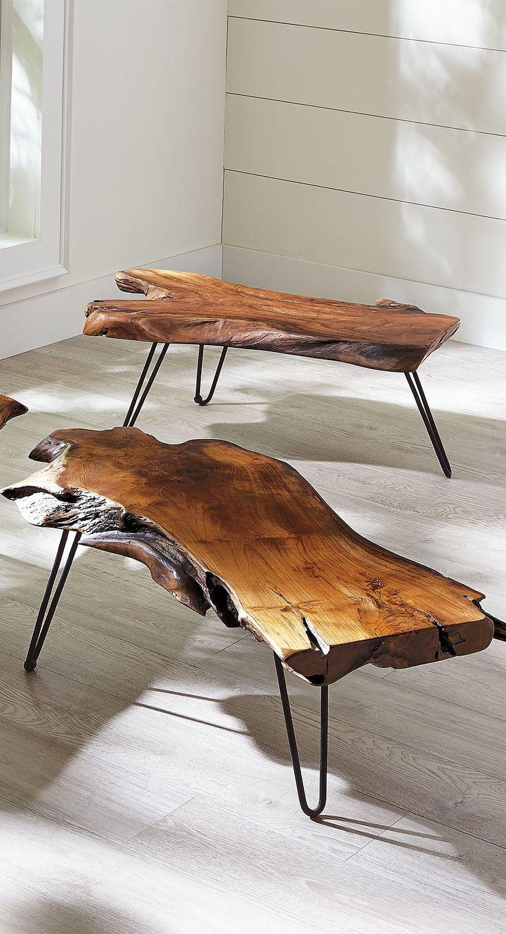 Coffee Tables Ideas Regarding Live Edge Teak Coffee Tables (View 1 of 20)