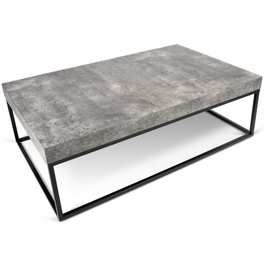Coffee Tables In Widely Used Iron Wood Coffee Tables With Wheels (View 3 of 20)