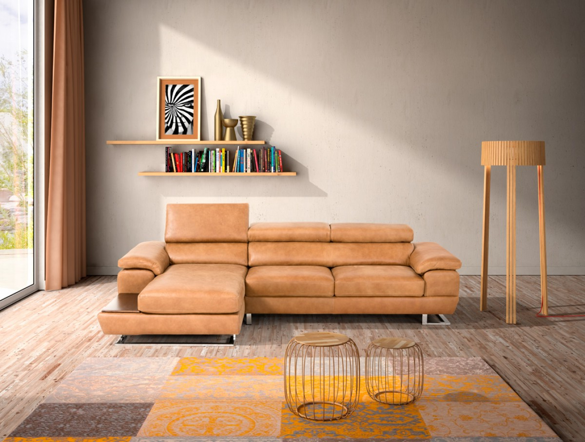 Cognac Sectional Sofa @ay13 – Roccommunity Intended For Latest Tenny Cognac 2 Piece Left Facing Chaise Sectionals With 2 Headrest (View 13 of 20)