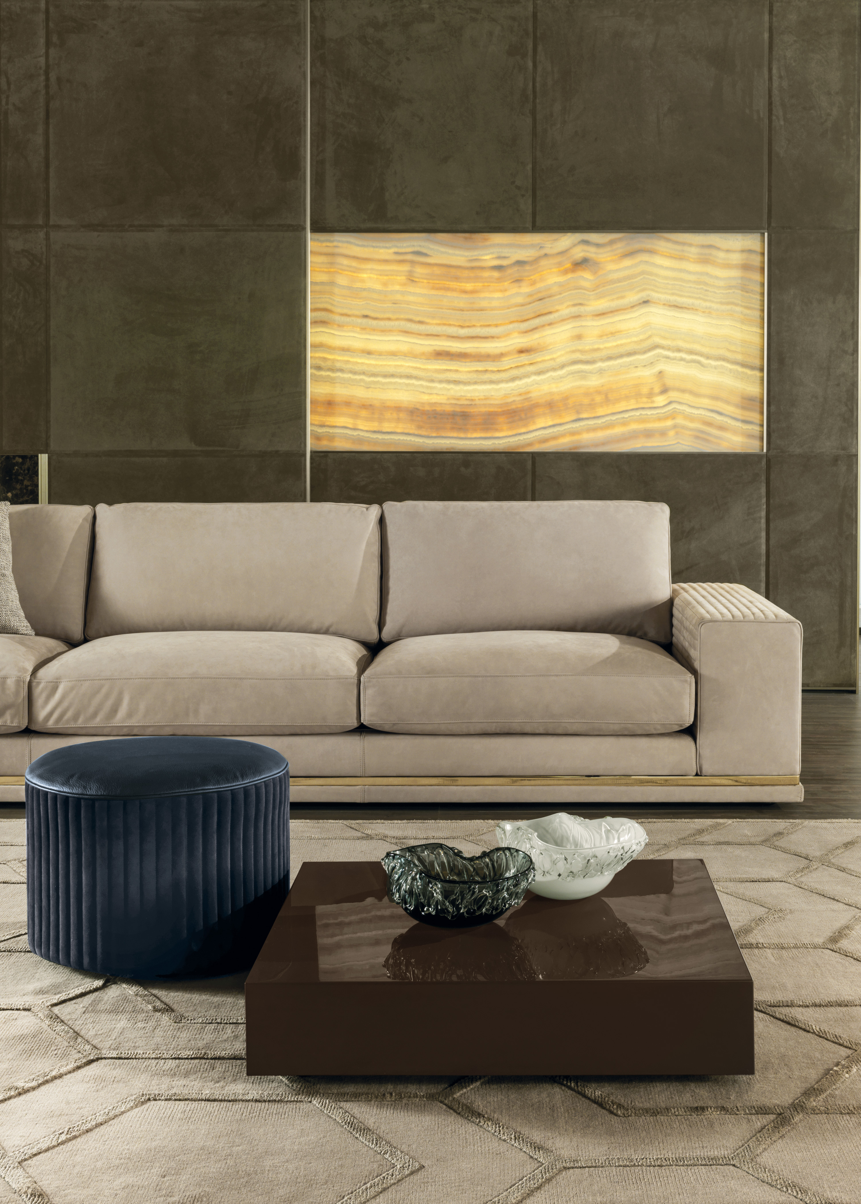 Cohen Down 2 Piece Sectionals Regarding Latest Cohen High End Italian Sofa – Italian Designer & Luxury Furniture At (Gallery 15 of 20)