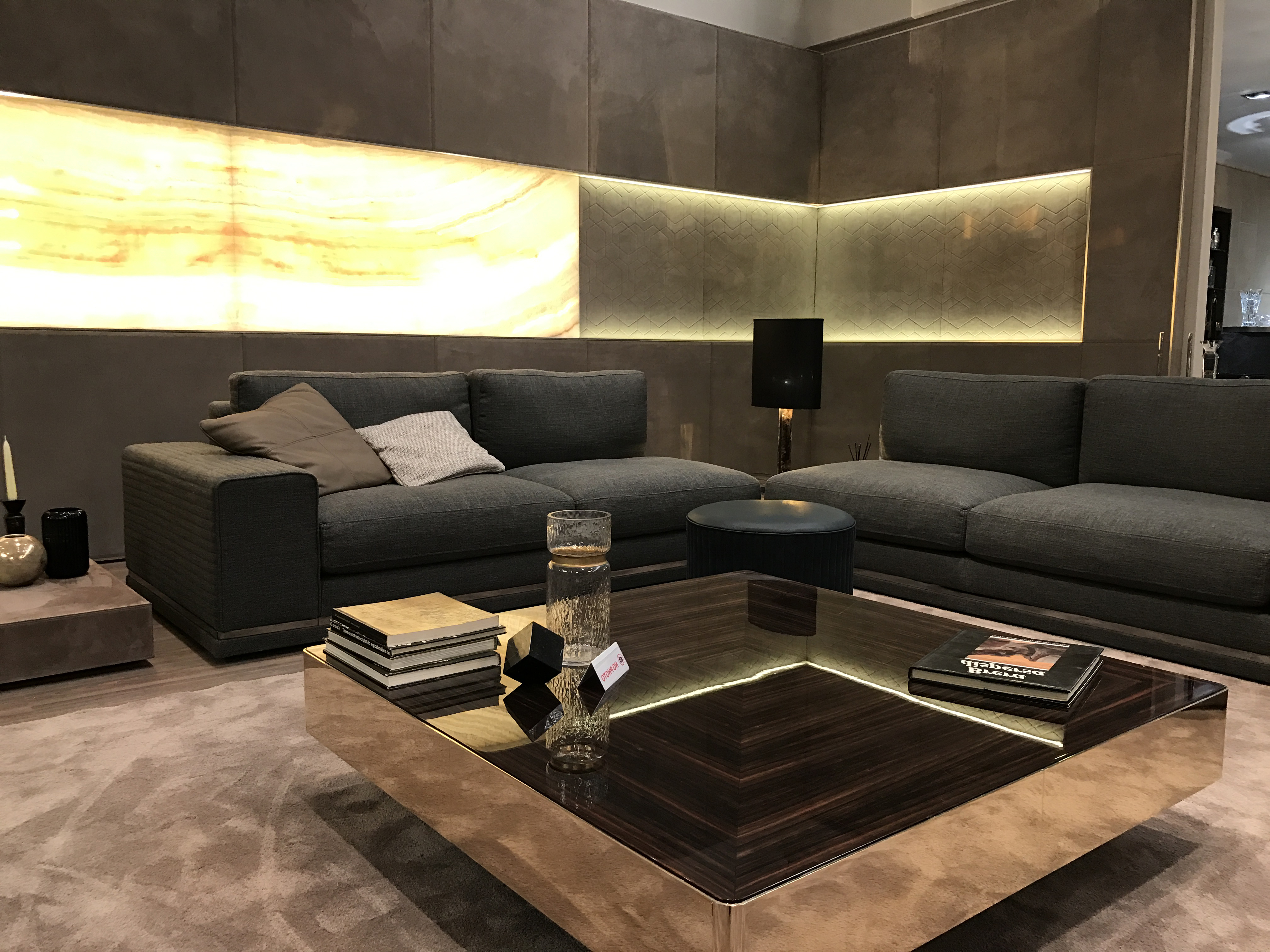 Cohen Down 2 Piece Sectionals With 2018 Luxury Italian Designer Cohen Sectional – Italian Designer & Luxury (View 8 of 20)