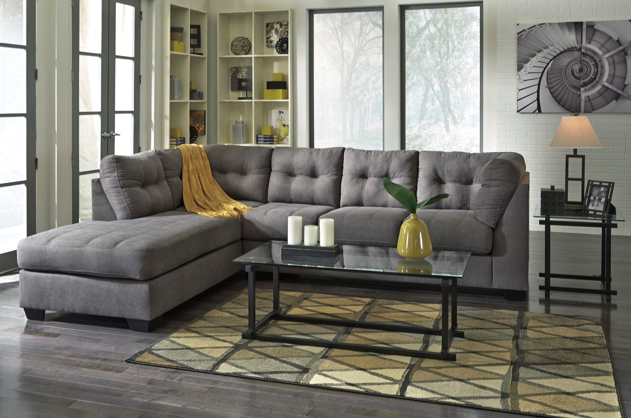 Coleman Intended For Meyer 3 Piece Sectionals With Laf Chaise (View 1 of 20)