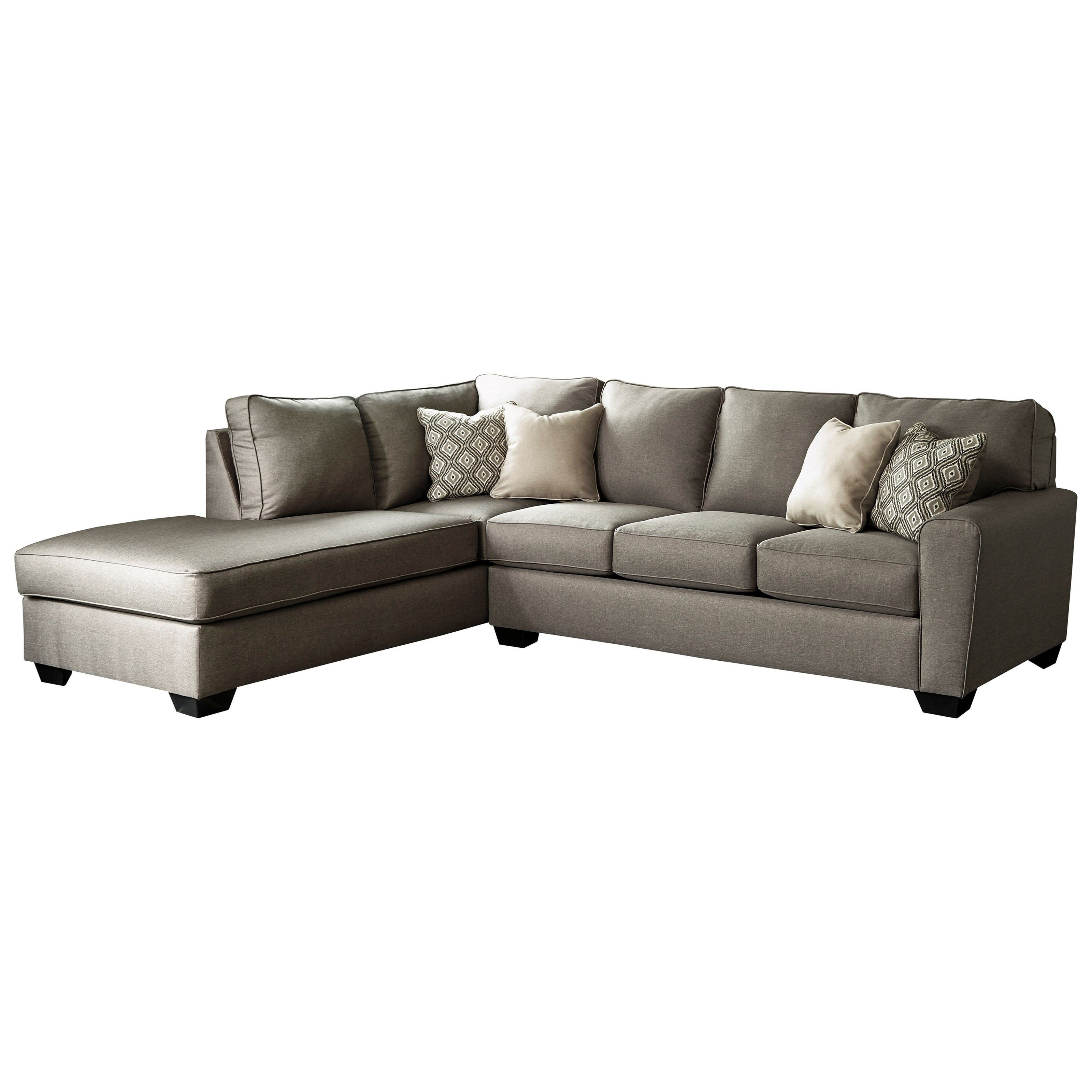 Collins Sofa Sectionals With Reversible Chaise Throughout 2019 Calicho Contemporary Sectional With Right Chaisebenchcraft (View 3 of 20)
