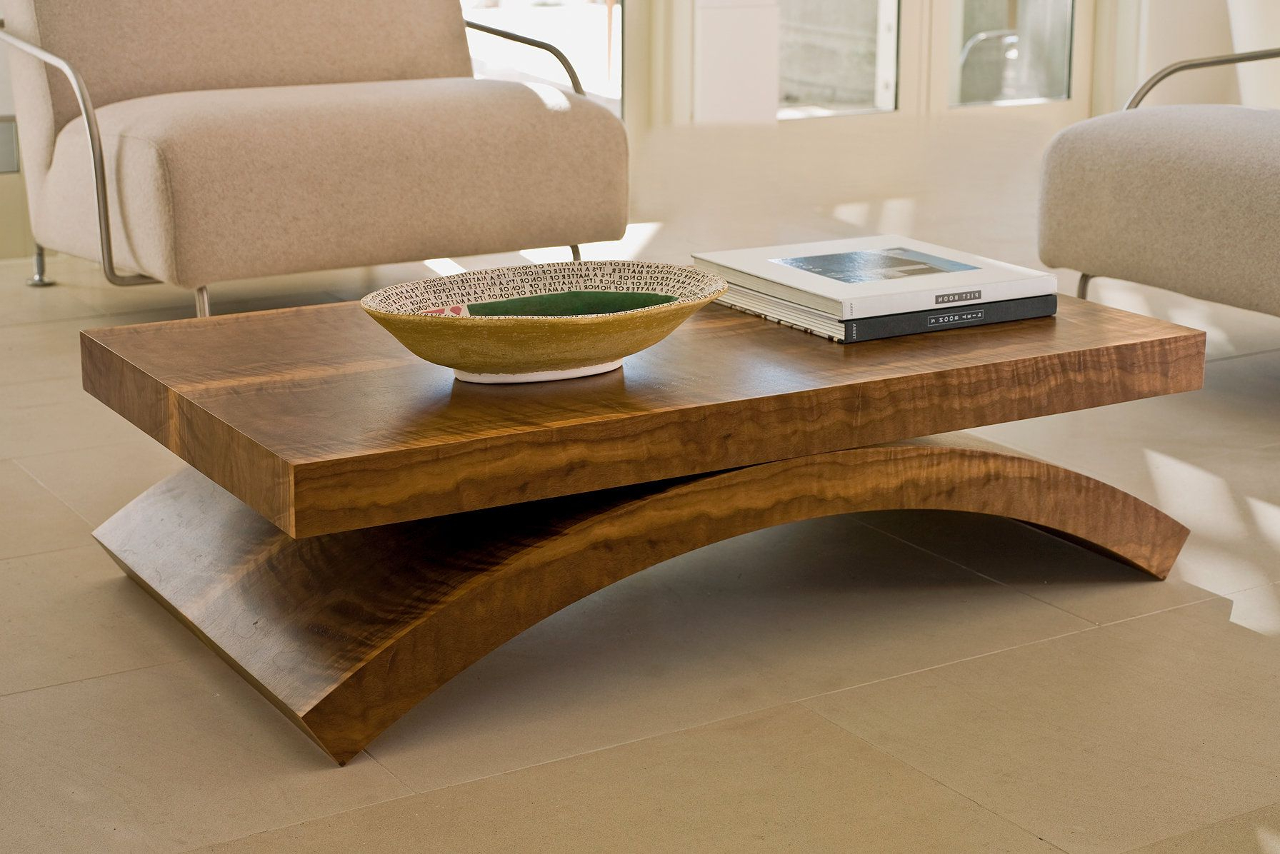 Contemporary Curves Coffee Tables Throughout Popular Interior Furniture Livingroom Gorgeous Square Coffee Table Ideas (Gallery 1 of 20)