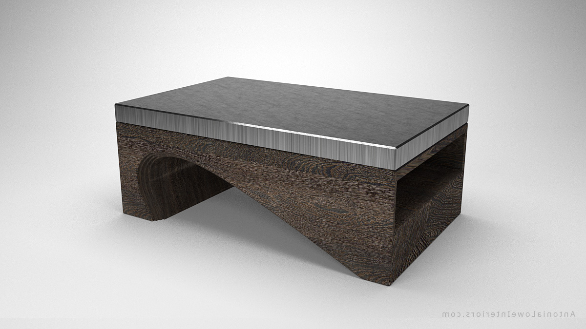 Contemporary Solid Curve Bottom Coffee Table – Interior Designer Throughout Most Recently Released Contemporary Curves Coffee Tables (View 2 of 20)