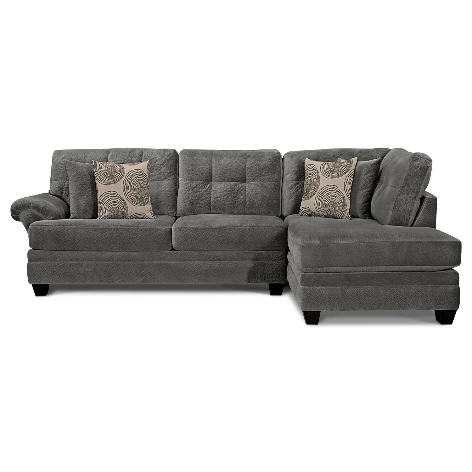 Cordelle 2 Piece Sectional With Chaise (View 15 of 20)