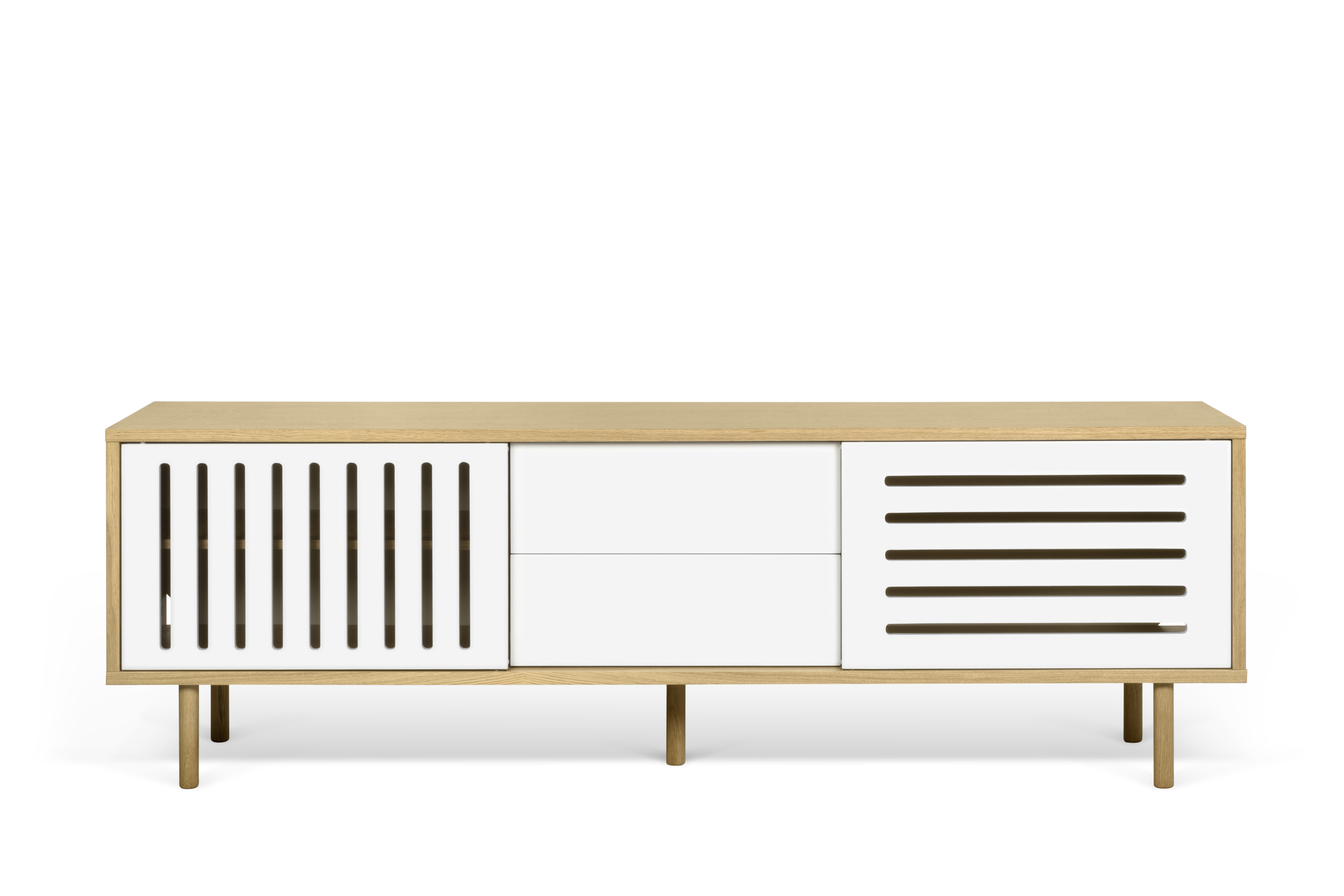 Corrigan Studio Garry Stripes Sideboard (View 19 of 20)