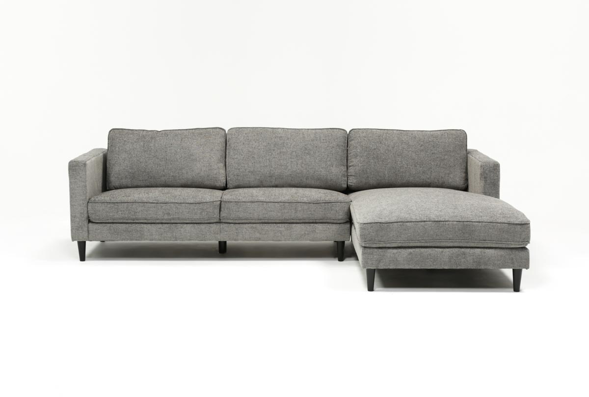 Cosmos Grey 2 Piece Sectional W/laf Chaise (Gallery 1 of 20)