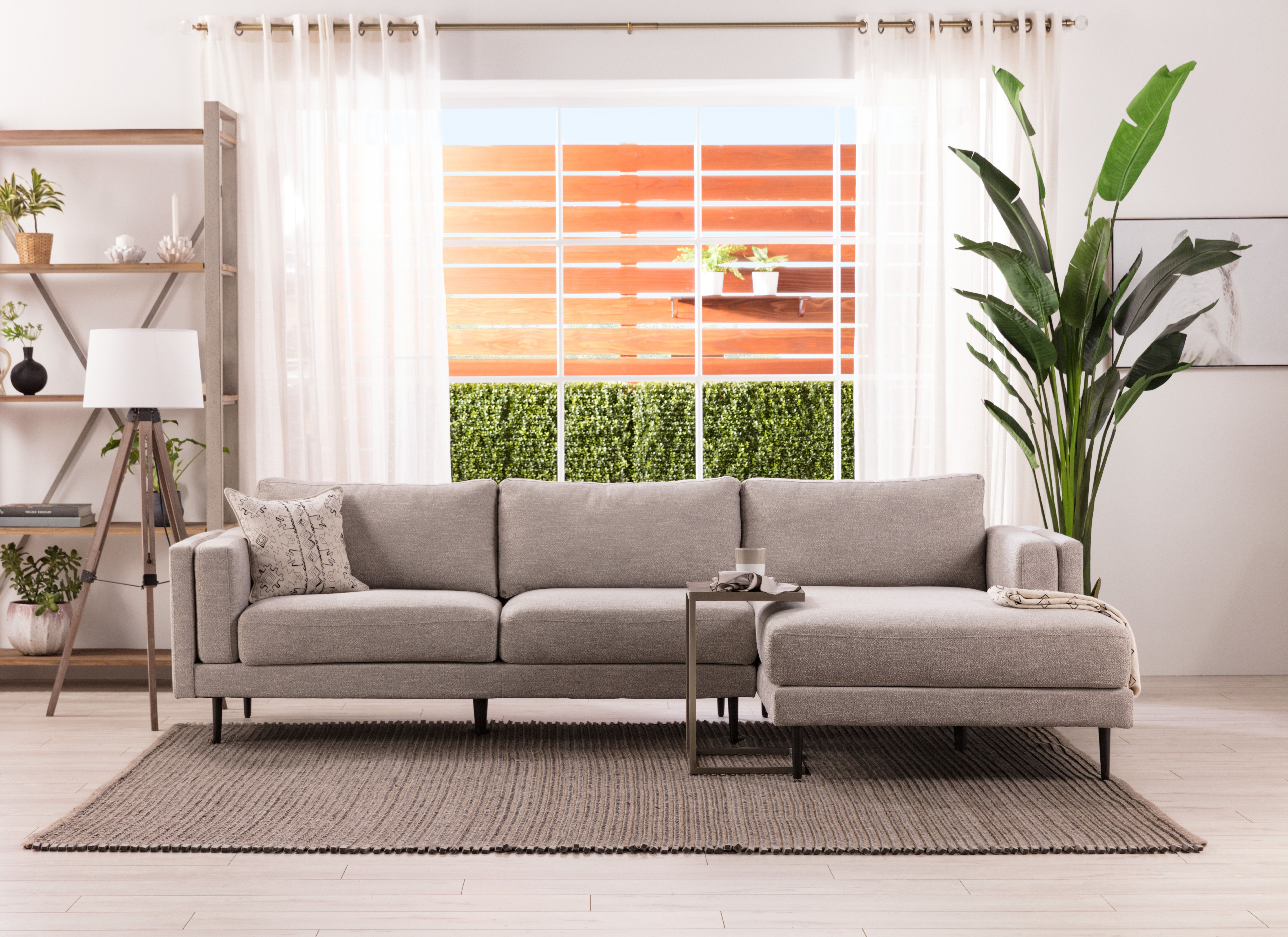 Cosmos Grey 2 Piece Sectionals With Raf Chaise In Most Up To Date Cosmos Grey 2 Piece Sectional W/laf Chaise In  (View 8 of 20)