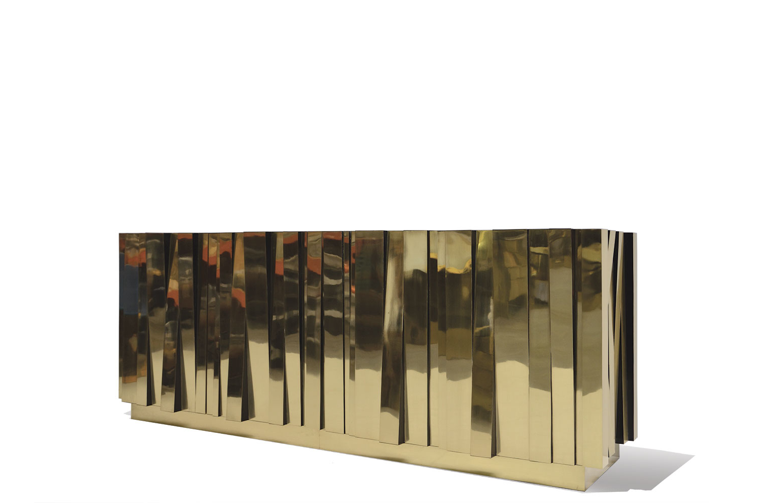 Coveted Sideboard – Goatskin / Brass (View 7 of 20)